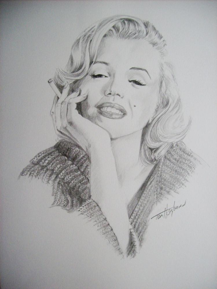 Marilyn Monroe by Tom-Heyburn